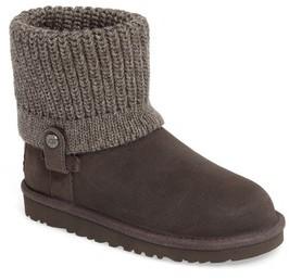UGG Toddler Girl's TM) Saela Knit Cuff Boot