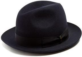 Borsalino Marengo medium-brim felt hat