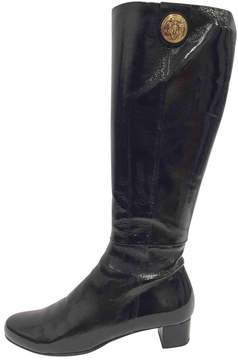 Gucci Patent leather riding boots