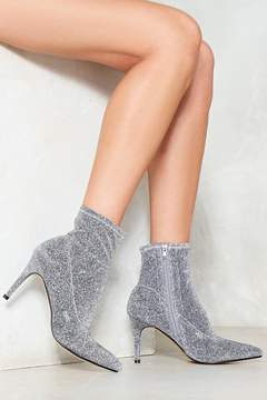 Nasty Gal nastygal You Rock My World Glitter Bootie