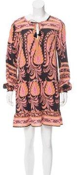 Calypso Silk Paisley Print Dress