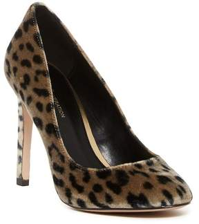 BCBGeneration Leigh Leopard Print Velvet Stiletto Pump