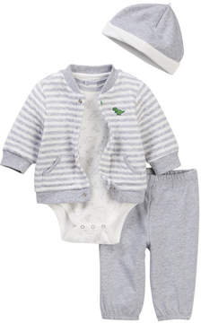 Little Me Dashing 4-Piece Cardigan Pant Set (Baby Boys)