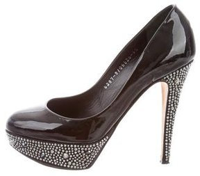 Gina Strass Platform Pumps