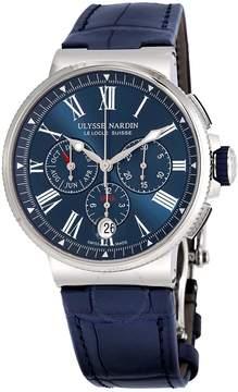 Ulysse Nardin Marine Automatic Men's Annual Calendar Watch