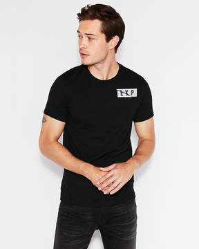 Express Exp Nyc Logo Crew Neck Graphic Tee
