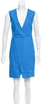Dirk Bikkembergs Leather Mini Dress w/ Tags