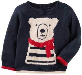 Osh Kosh Baby Boy Cozy Bear Knit Sweater