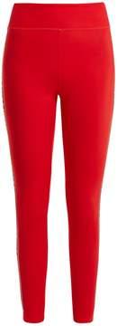 Fendi Side-stripe performance leggings