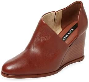 Matt Bernson Women's Edie Cut-Out Leather Wedge