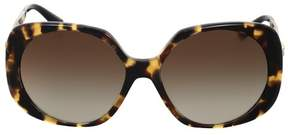 Versace Brown Gradient Square Sunglasses