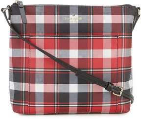 Kate Spade Hyde Lane Plaid Gabby Cross-Body Bag
