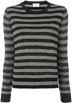 Allude striped top