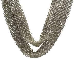 Tiffany & Co. Peretti Sterling Silver Mesh Scarf 50