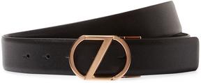 Z Zegna Men's Five Notch Textured Belt