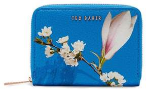 Ted Baker Corri Harmony Print Leather Zip Coin Purse