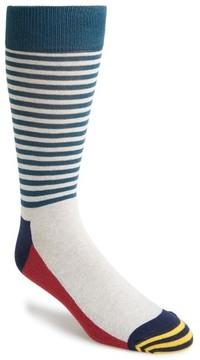 Happy Socks Men's Colorblock Stripe Socks