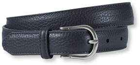 L.L. Bean Women's Pebbled Leather Belt