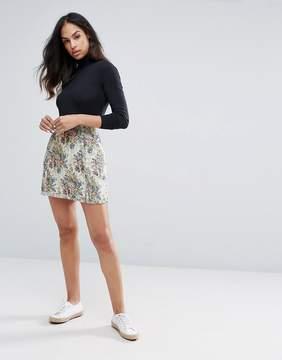 Esprit Floral Tapestry Skirt