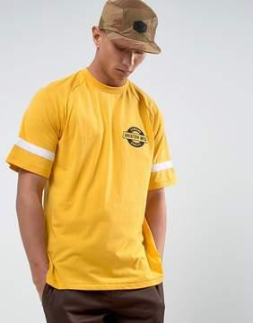 Brixton Raglan T-Shirt With Small Logo