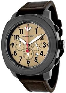 Giorgio Armani Men's Sportivo Watch Quartz Mineral Crystal AR6055