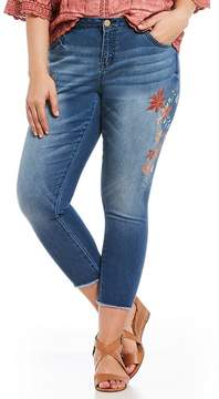 Democracy Plus Seamless Ankle Floral Print Detail Skimmers