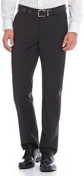 Murano Performance Alex Modern Slim-Fit Flat-Front Bi-Stretch Solid Pants