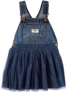 Osh Kosh Baby Girl Glitter Tulle Skirt Jumper