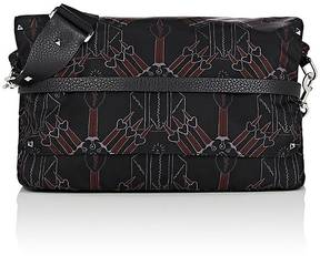 Valentino Men's Loveblade-Print Messenger Bag