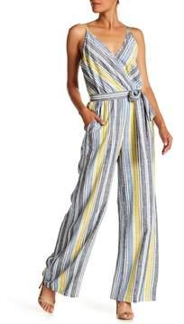 ECI Striped Jumpsuit