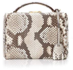 Mark Cross Grace Python Small Box Bag