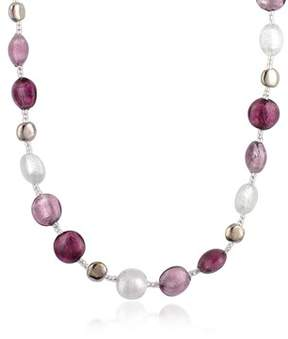 Antica Murrina Veneziana Women's Purple Other Materials Necklace.
