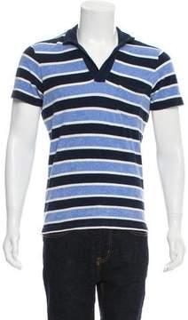 Orlebar Brown Button-Up Polo Shirt