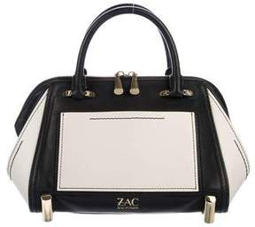 Zac Posen Colorblock Leather Satchel