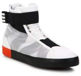 Y-3 Loop Court High-Top Sneakers