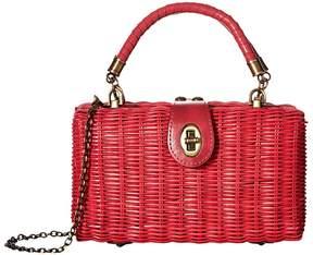 Patricia Nash Ayora Wicker Shoulder Bag Shoulder Handbags
