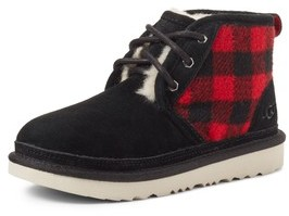 UGG Boy's Neumel Ii Plaid Water Resistant Boot
