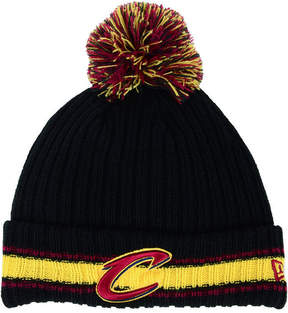 New Era Cleveland Cavaliers Basic Chunky Pom Knit Hat