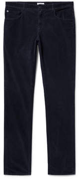 Boglioli Slim-Fit Stretch-Cotton Corduroy Trousers