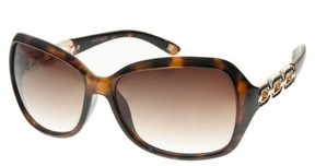 Nine West Womens Tortoise Brown Sunglasses One Size Brown