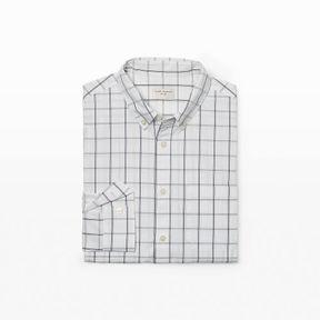 Club Monaco Slim Windowpane Shirt