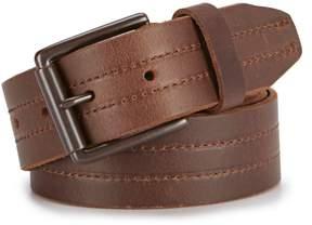 Daniel Cremieux Double Center Stitch Leather Belt