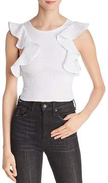 C/Meo Collective Best Love Ruffled Smocked Top - 100% Exclusive