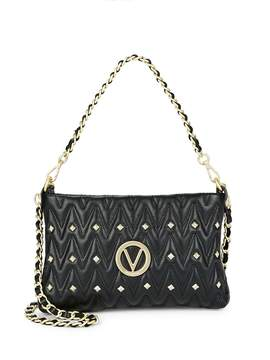 Mario Valentino Valentino by Women's Vanilled Leather Crossbody Bag