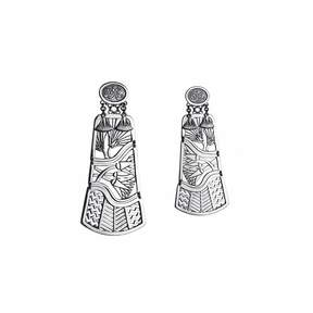 Azza Fahmy Tale of the Nile Earrings