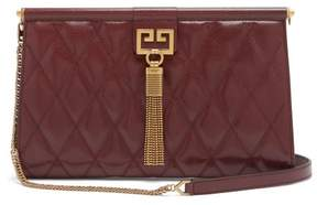 Givenchy Gem Medium Quilted Leather Bag - Womens - Burgundy