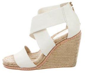 AERIN Leather Espadrille Sandals