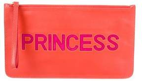 RED Valentino Leather Princess Wristlet