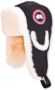 Canada Goose Men's Pilot Hat with Shearling