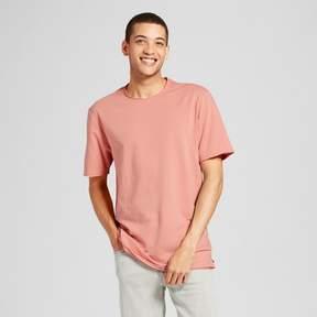 Jackson Men's Oversized Raw Edge T-Shirt Burnt Pink